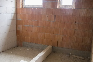 III.NP - kúpeľňa a WC k 2-izbovému bytu