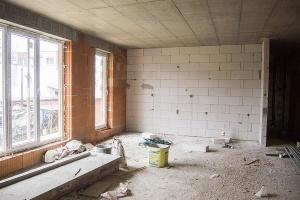 II.NP - obývacia izba s kuchynským kútom - 2-izbový byt
